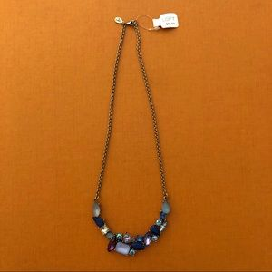 Loft Gemstone Necklace NWT